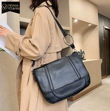 Модные кожаные ранцы сумка через плечо вместительные роскошные