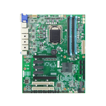EAMB-1590 industrial motherboard supports Intel Xeon E2100 series and 8/9th Gen LGA 1151 i3 i5 i7 processor image