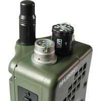 עבור baofeng Case רדיו Dummy האריס PRC-152 PRC 152, צבאי דגם Talkie Walkie-עבור Baofeng רדיו, אין פונקציה + עם תקע Peltor 6 פין PTT (3)