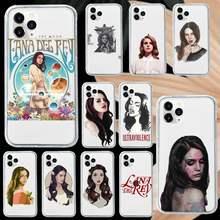 Custodia per telefono Lana Del Rey (for Life trasparente morbida per iphone 5 5s 5c se 6 6s 7 8 11 12 plus mini x xs xr pro max