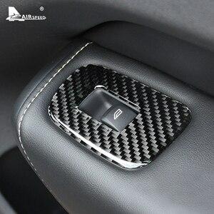 Image 3 - FLUGGESCHWINDIGKEIT für VOLVO XC60 S60 V60 Zubehör 2018 2019 2020 Carbon Faser Auto Tür Fenster Switch Panel Cover Aufkleber Innen trim