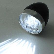 3 luces LED para bicicleta, linterna impermeable, lámpara recargable para bicicleta, lámpara frontal para bicicleta, faro Retro Vintage, linterna USB