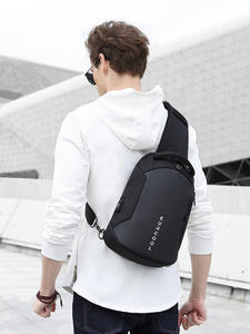 Crossbody-Bags Water-Repellent Messengers Multifunction Trip Male Men N1825 Short Usb-Charging