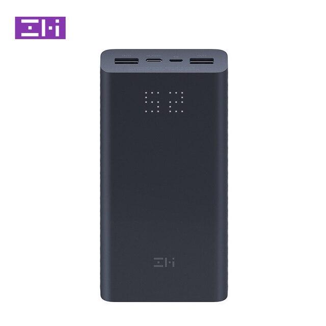 Xiaomi ZMI Power Bank 20000MAh QB822 3 Cổng USB Loại C 27W PD Nhanh Sạc Di Động Powerbank 20000 Bên Ngoài pin Poverbank