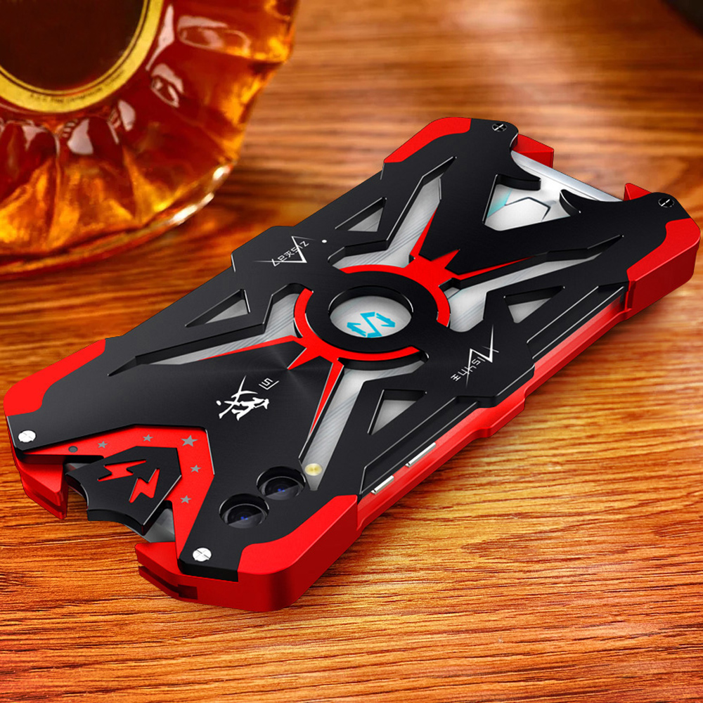 Luxury Aluminum Metal Body Cover Fundas for Xiaomi BlackShark Black Shark 3 2 Pro 3pro 2pro Case Coque Cover Shockproof Shell(China)