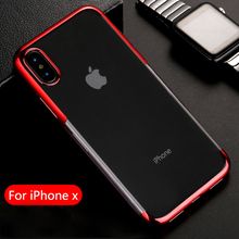 KISSCASE Transparent Phone Case For iPhone 11 Pro Max XR X XS MAX 7 8 Soft TPU Cases For iphone 7 8 6 6S Plus Clear Back Covers phone case for iphone 11 pro max shockproof plating clear tpu back cover for iphone 6 6s 8 7 plus x xr xs max 11 pro max fundas