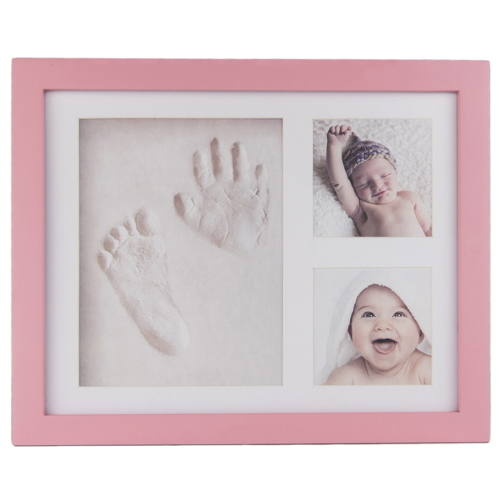 Footprint Non-Toxic Clay Casting Kit Baby Keepsake Souvenirs DIY Baby Hand Print Kit Hand-Casting-Kit For Newborns Baby Gift Kit