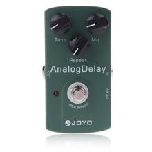 Joyo JF 33 analógico atraso pedal efeito guitarra elétrica true bypass acessórios da guitarra pedal peças de guitarra venda quente