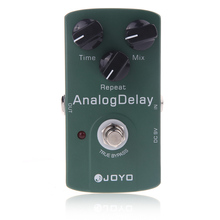 Joyo JF 33 التناظرية تأخير تأثير الغيتار الكهربائي دواسة صحيح الالتفافية الغيتار الاكسسوارات الغيتار دواسة الغيتار أجزاء hot البيع