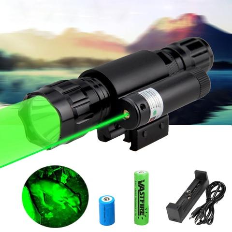 501b led tatico caca arma lanterna vermelho verde branco azul rifle arma luz 20mm montagem
