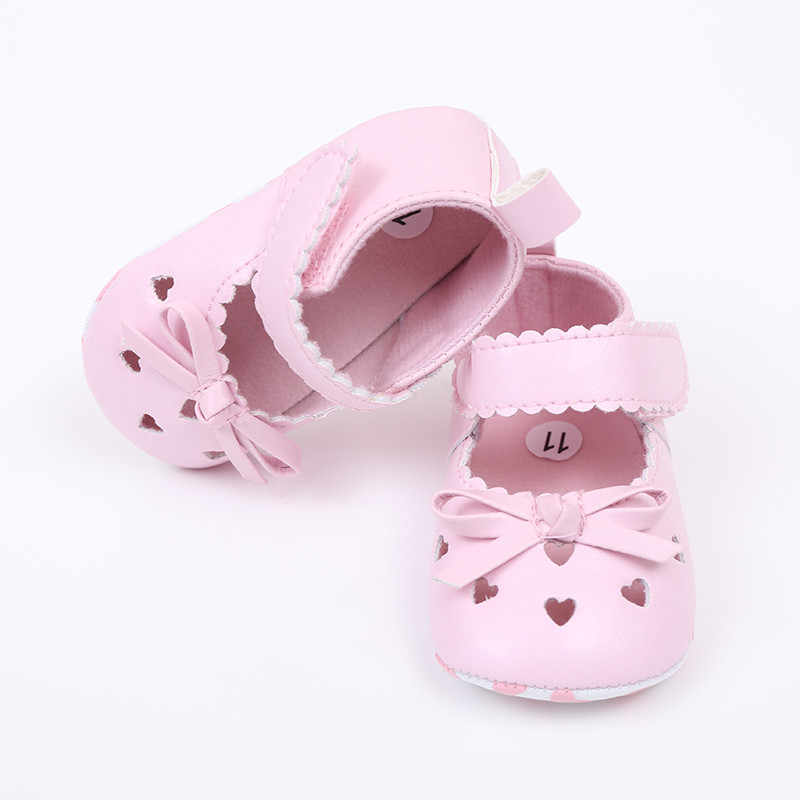SAGACE תינוק נעלי יילוד תינוקות בנות 2019 יפה Bowknot עריסה נגד החלקה נעלי תינוק ילדים אנטי להחליק סניקרס רך בלעדי
