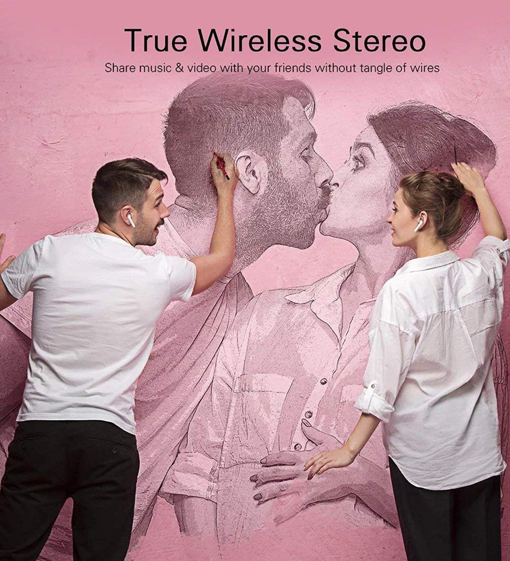 Original i7s TWS Wireless Earpiece Bluetooth 5.0 Earphones Sport Earbuds Headset With Mic For smart Phone Xiaomi Samsung Huawei