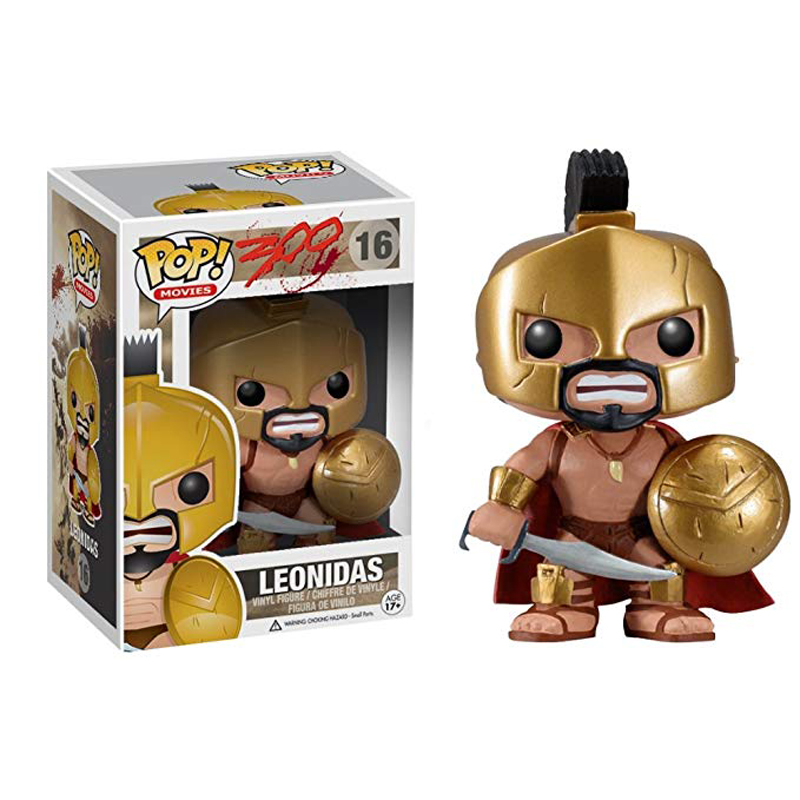 FUNKO POP King Leonidas In Sparta 300 Rise Of An Empire Vinyl Action Figure Collection Model Toys For Children Christmas Gift