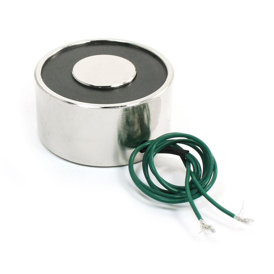 Uxcell 12V 55LB 25Kg Electric Lifting Magnet Electromagnet Solenoid Lift Holding 40mm
