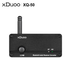 Xduoo xq 50 buletooth аудио приемник конвертер dac/amp es9018k2m
