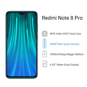 "Image 3 - Wersja globalna Xiaomi Redmi Note 8 Pro 6GB 64GB Smartphone 64MP Quad Camera Helio G90T 4500mAh NFC telefon komórkowy 6.53 ""DotDisplay"