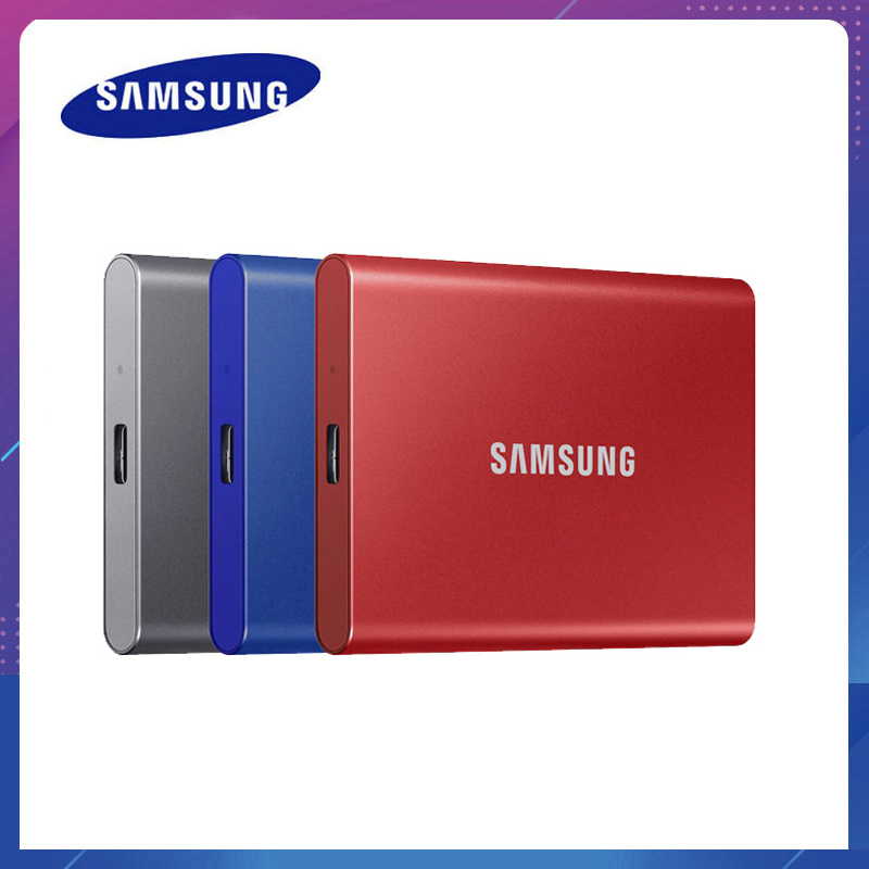 Original SAMSUNG T7 SSD NVME 2TB 1TB 500GB Type C USB 3.2 Gen2 External Solid State Drives compatible for laptop|External Solid State Drives| - AliExpress