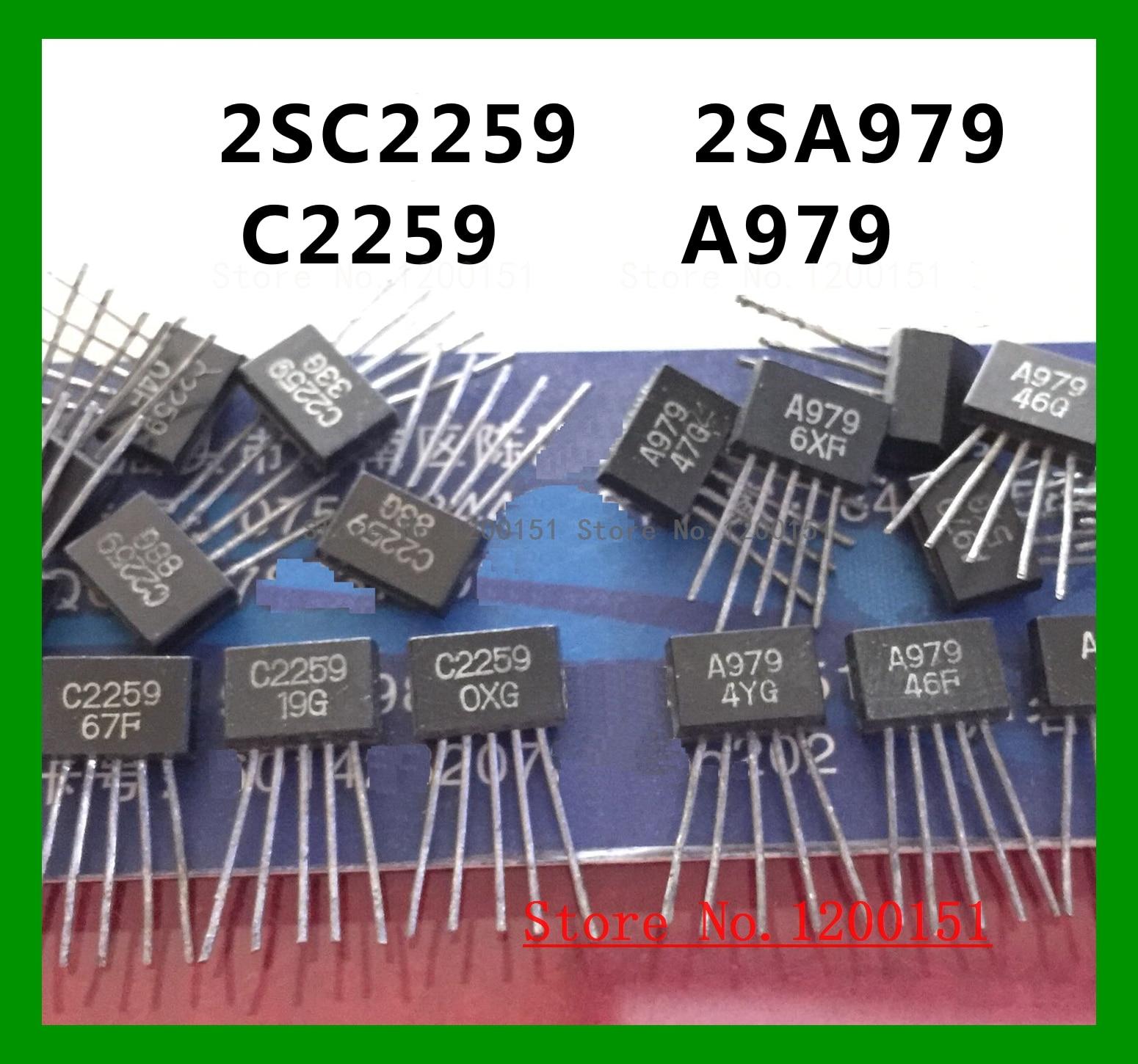 2SC2259 C2259 A979 2SA979 SIP5