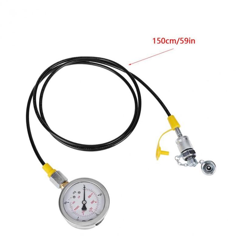 máquina escavadora do calibre da pressão com