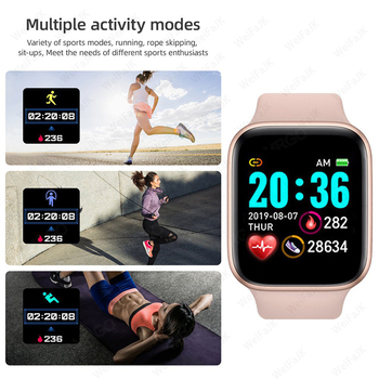 2020 Smart Watches Men Women Smartwatch Heart Rate Step Calorie Fitness Tracking Sports Bracelet For Apple Android Smart Watch 2