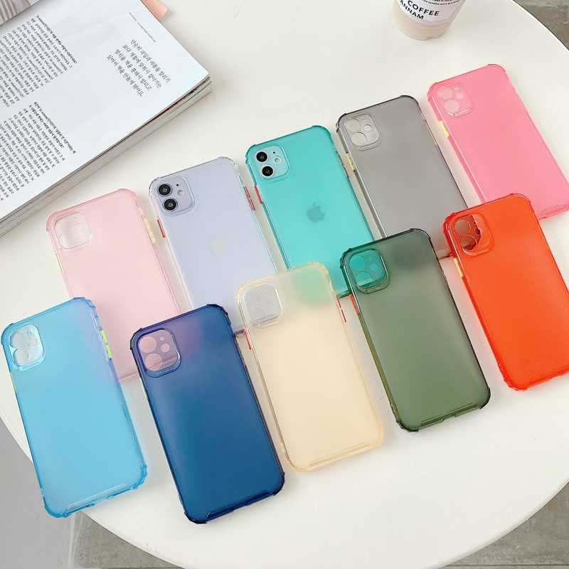 Funda trasera de silicona para teléfono Samsung A51 A71 A 50 70 30 A50 A70 J2 J7 Prime S11e S11 Plus Note 10 Lite Pro funda suave de TPU