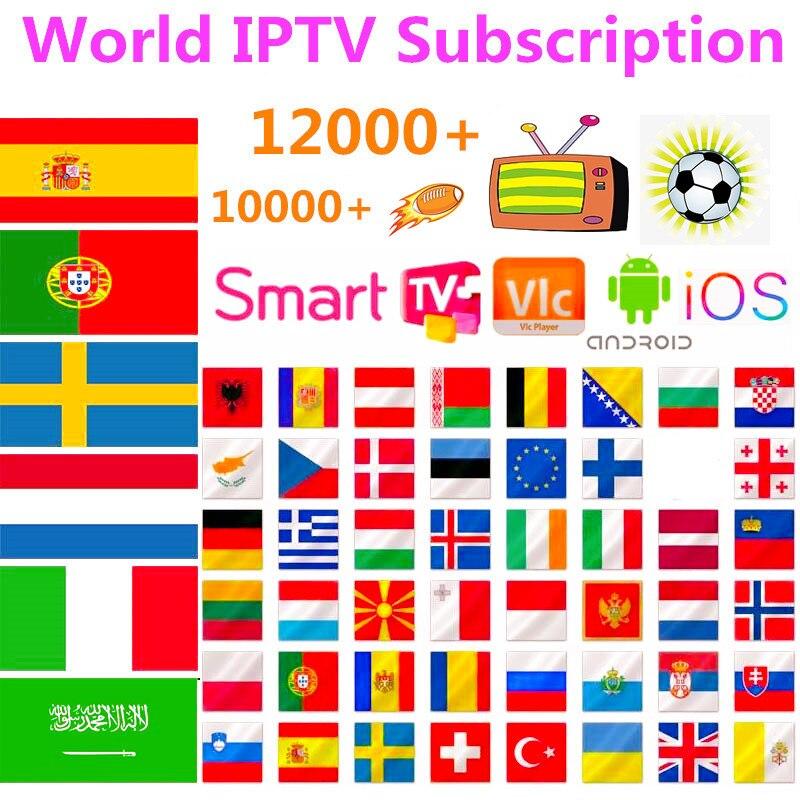 Smart IPTV Subscription Nordic Europe Sweden Norway IPTV M3u List Spain Portugal Germany Greek Dutch Latino Poland EX-YU IP TV