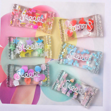 10PCS Colorful Resin Mixed Transparent Candy Decoration Crafts Flatback Cabochon Embellishments for Phone Deco DIY Home Deco 10pcs acrylic lovely mixed fruit flatback cabochon scrapbook kawaii diy embellishments accessories c75