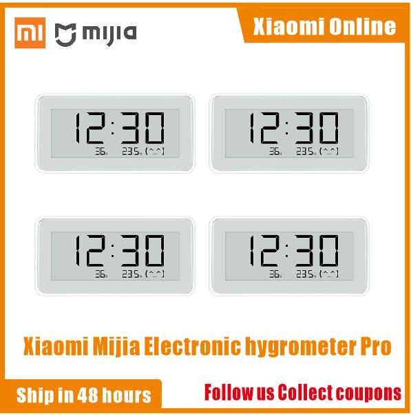 2020NEW شاومي Mijia BT4.0 اللاسلكية الذكية الكهربائية ساعة رقمية داخلي الرطوبة ميزان الحرارة E الحبر أدوات قياس درجة الحرارة
