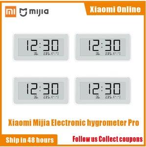 Image 1 - 2020NEW Xiaomi Mijia BT4.0 Wireless Smart Electric Digital clock Indoor Hygrometer Thermometer E ink Temperature Measuring Tools