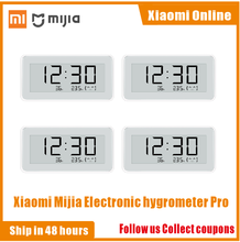 Беспроводные Смарт часы Xiaomi Mijia BT4.0, электрические цифровые часы, внутренний гигрометр, термометр, электронные чернила, измерительные инструменты для измерения температуры, 2020NEW