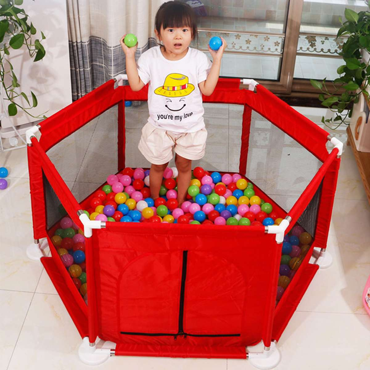 Children Toddler Soft Play Fencing