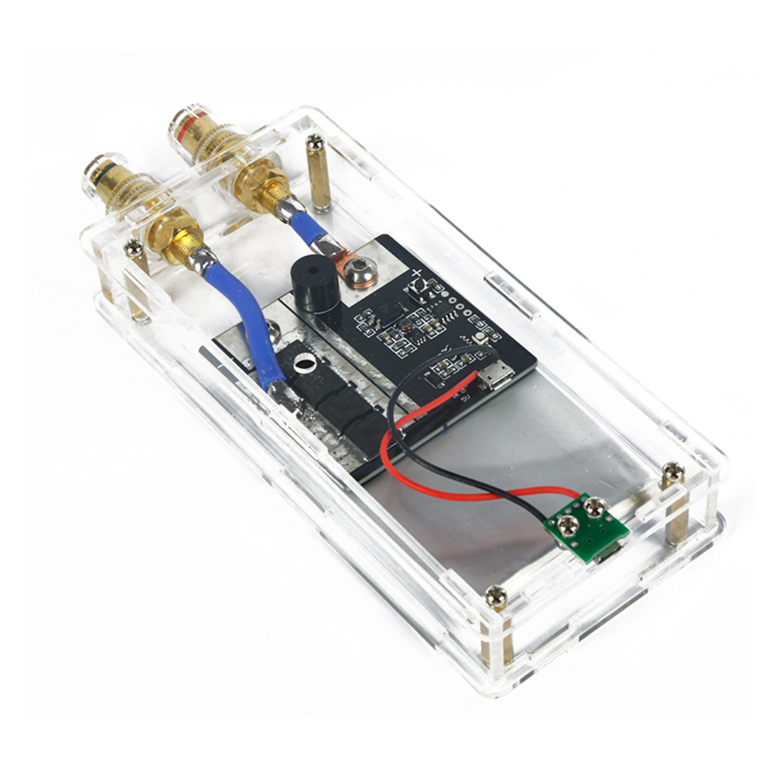 DIY Portable Spot Welder Nickel Sheet Fara Capacitor Spot Welder For 12V Power Supply Programming Toy Parts