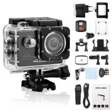 4K كاميرات 2.0 بوصة شاشة عمل كاميرا الترا HD كاميرا رياضية واي فاي عن بعد فيديو كاميرا الذهاب مقاوم للماء برو كاميرا خوذة