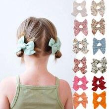 2 шт. большие заколки для волос узел заколки для волос девочки младенческой малыш наборы повязок на голову
