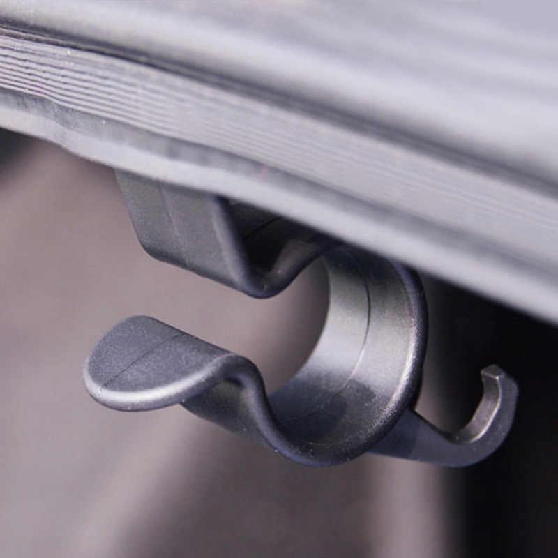 2 pçs guarda-chuva pendurado gancho titular suporte de guarda-chuva automático clipe organizador tronco traseiro do carro suporte de montagem toalha gancho