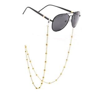 Image 1 - Colour_Max cadena para anteojos para mujer, gafas de lectura, soporte para lentes, cordones de correa, retenedor de gafas para mujer