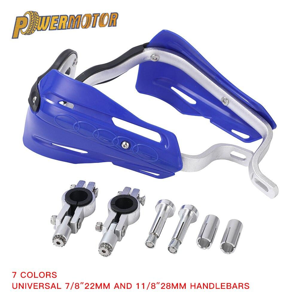 1 Pair 22MM 28MM Motorcycle Hand Guard Handbar Handguards Motocross For KTM SX EXC CRF YZ F KX Protege Main Universel Moto(China)
