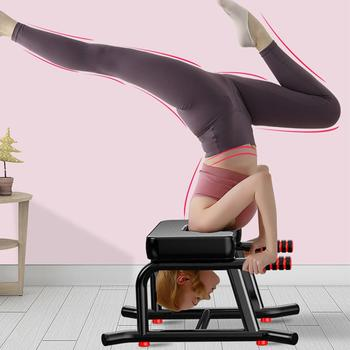 Yoga Headstand Bench Stand Yoga Inversion Chair for Home Gym Workout Fitness Yoga Chair Headstand Stool Yoga Fitness