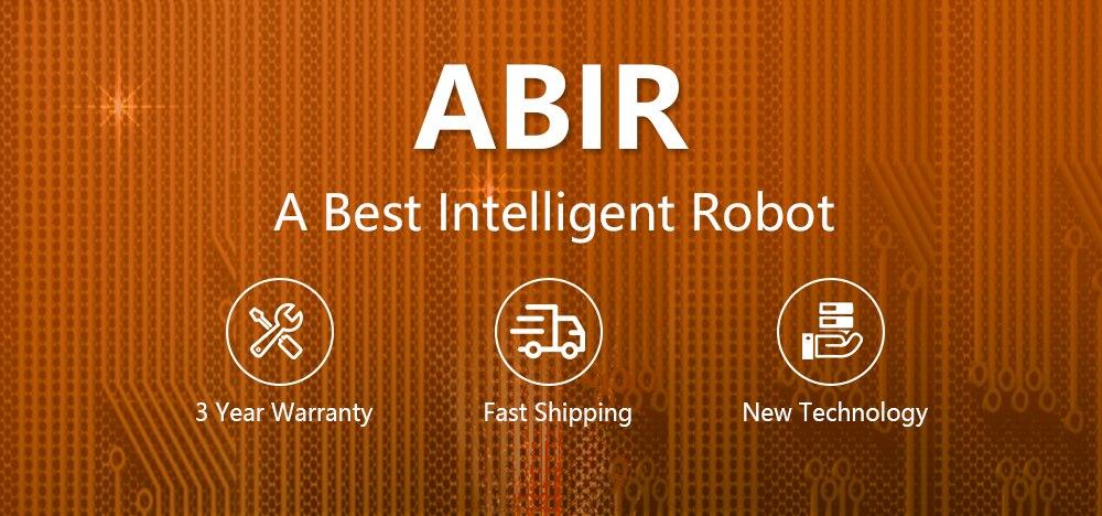 Hc7ef390c127c47b5aaad28ed465d2d92t ABIR Robot Vacuum Cleaner x6 with Camera Navigation,Smart Memory,Hand Draw Virtual Blocker,Low Noise,Intelligent Big Water Tank