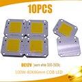 100 Вт 40x46 мм COB светодиодный чип теплый белый 3000-3500k 100LM/W светодиодный DC12V 7A исходная микросхемка для прожектора Бесплатная Доставка 10 шт.