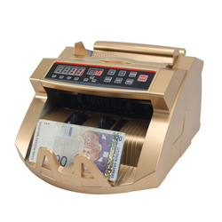 Golden money counting machine UV MG bill counter money detector machines for USD/EURO/GBP XD-2108