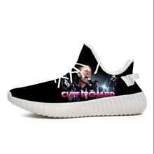 Mens Shoes Cliff Richard Heavy Metal Band Coconut Lightweight Breathable Leisure Sports Casual Outdoor Walking