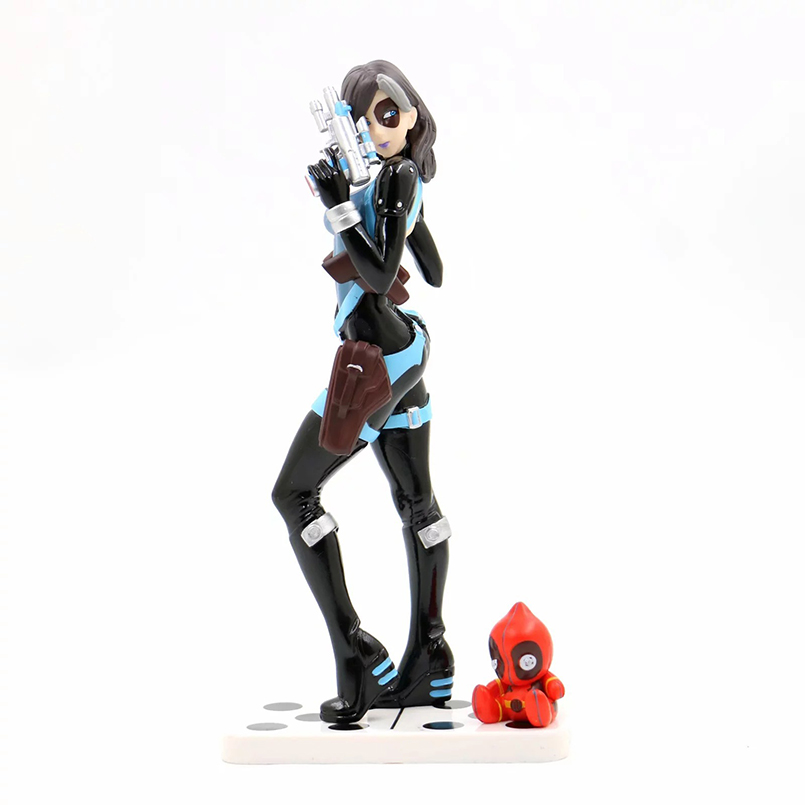 20cm Avengers X-Men <font><b>Female</b></font> Deadpool PVC <font><b>Action</b></font> <font><b>Figure</b></font> toys X-Men <font><b>sexy</b></font> <font><b>Female</b></font> Deadpool Collectible Decoration Model toys kid gift image