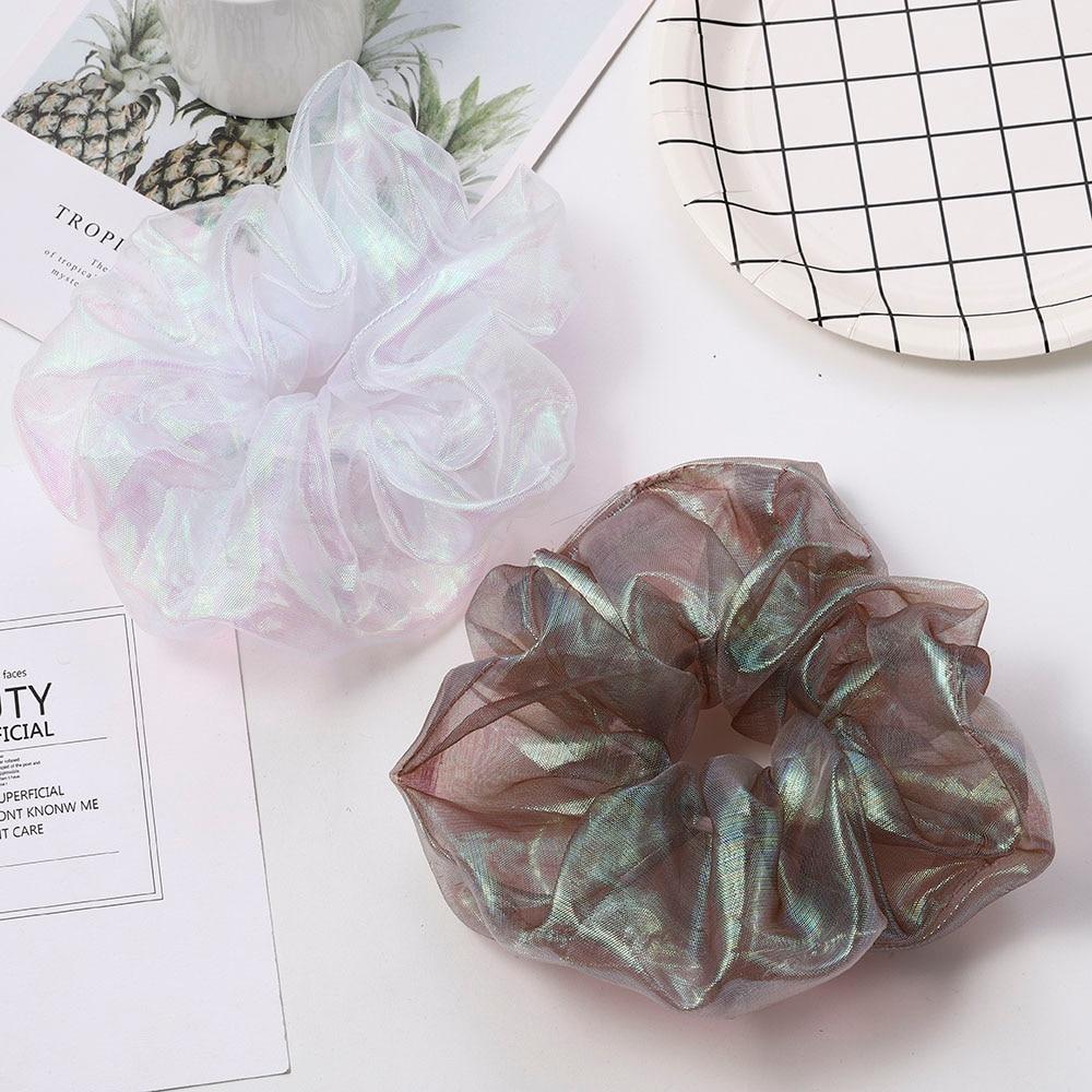 Korea Elastic Hair Bands Solid Color Velvet Hair Scrunchie Women Girls Headwear Ponytail Holder Hair Accessories 2020 Headwear