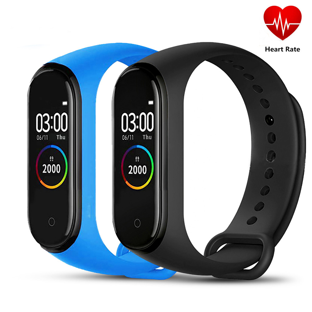 M4 Smart Band 4 Fitness Tracker Watch Sport Bracelet Heart Rate Blood Pressure Smartband Monitor Health Wearable Wristband PK R1