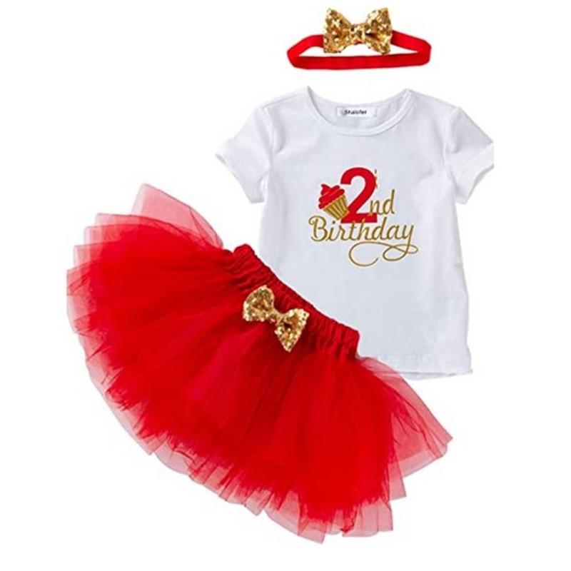 Одежда для маленьких девочек, платье на 2-й день рождения, наряды, эксклюзивная Одежда для девочек 2 лет, платья для крещения для маленьких де...