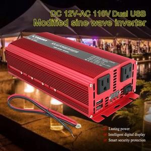 Универсальное зарядное устройство 10000 Вт, с двойным USB-разъемом 12 в пост. Тока/24 В перем. Тока на 110 В/220 В переменного тока