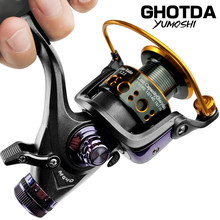 Double Brake Reel Spinning Reel Fishing Reel 3000 4000 5000 6000 Gear Ratio 5.2:1/5.0:1 Reels carretilhas de pesca