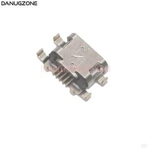 Image 1 - 50 개/몫 모토로라 모토 G6 놀이/E5 USB 포트 충전 잭 소켓 플러그 충전 도크 커넥터