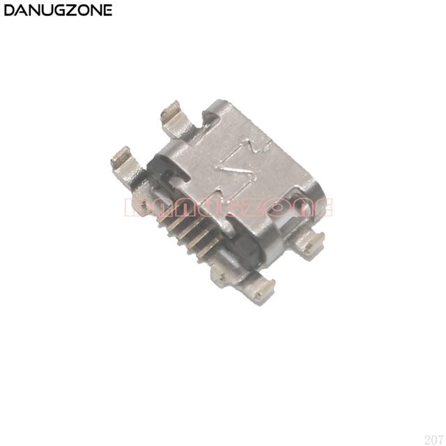 50 шт./лот для Motorola MOTO G6 Play/E5 USB порт Разъем для зарядки разъем для зарядки док станции